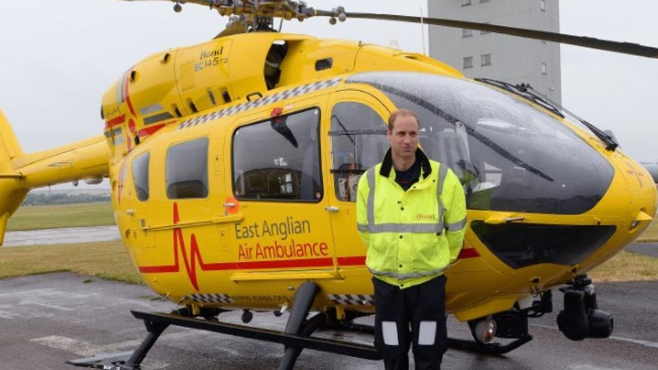 Prince William Of The UK Quits Ambulance Job To Become Fulltime Royal  Pak