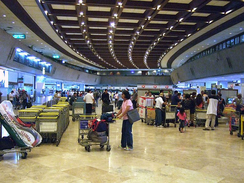 Passenger detained at Philippine airport for carrying gun