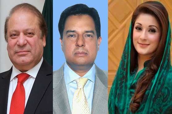 Image result for NAB asks Interior Ministry to put Nawaz, Maryam and Safdar names on ECL